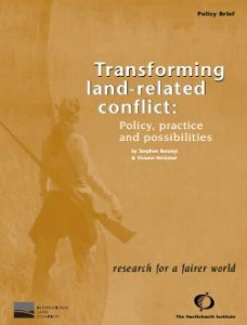 Land Related Conflict Pub Cover