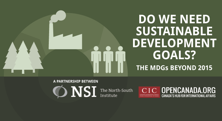 NSI partners with OpenCanada.org to delve into the SDGs
